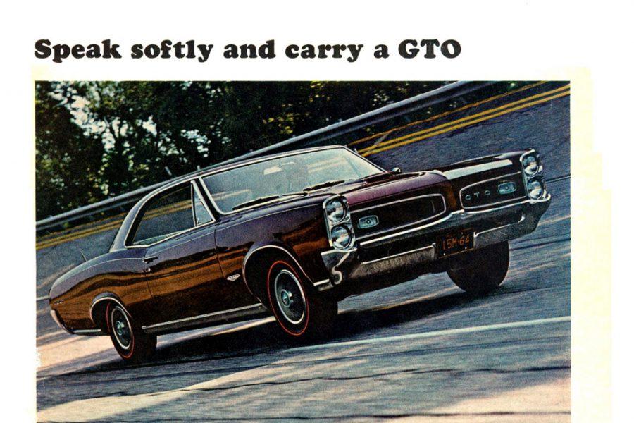 muscle car history - 1. teil: pontiac gto 1964-66 -